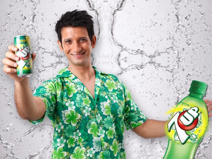 Sharman Joshi in 7Up Commercial