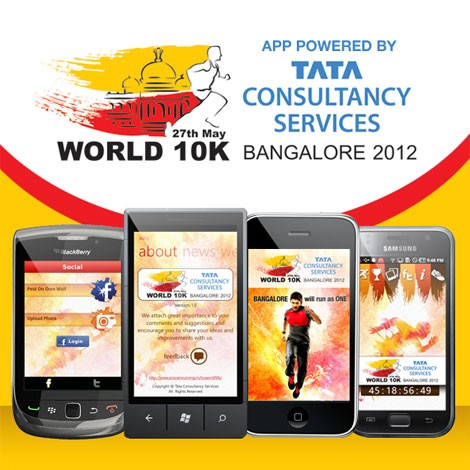 TCS World 10K Bangalore 2012 App