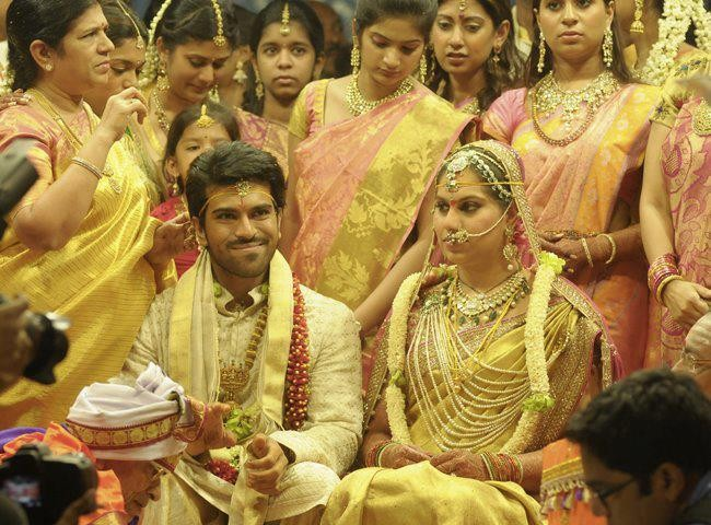 Ram Charan Teja weds Upasana Kamineni
