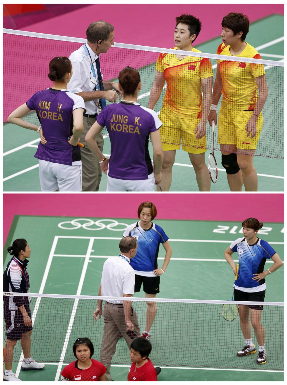 Controversy Hits London Olympics 8 Badminton Players Disqualified