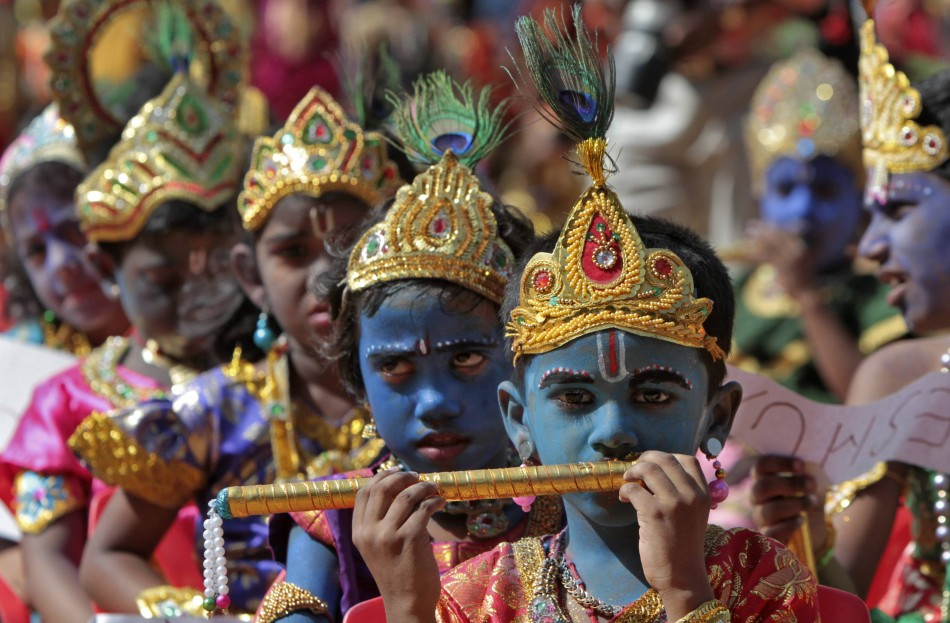 Janmashtami celebrations in India