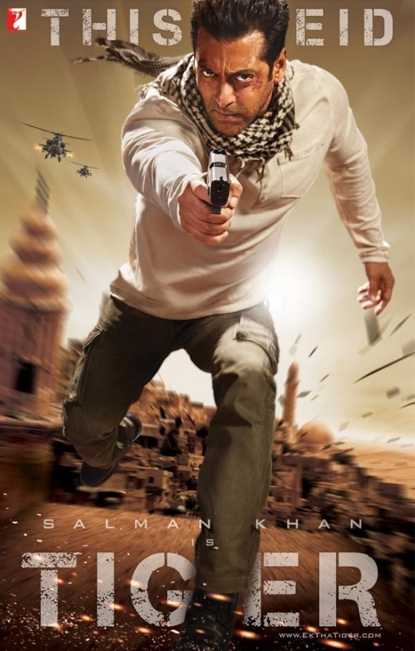 """Ek Tha Tiger' movie poster"
