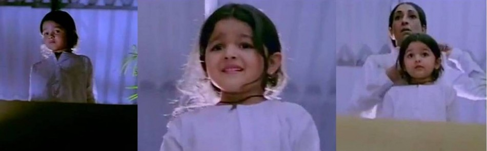 Pics Photos - Alia Bhatt Childhood Photo In Sangharsh Movie