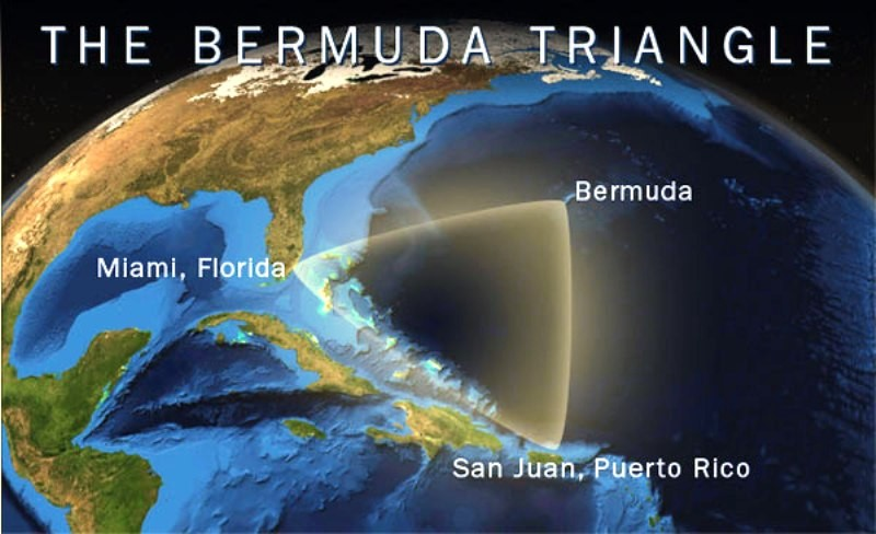 theories behing the bermuda triangle essay The mystery of the bermuda triangle may finally have been solved by a group of  satellite meteorologists for decades, a series of.