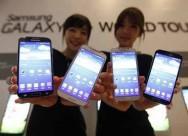 Samsung Smartphone Market Share Rises