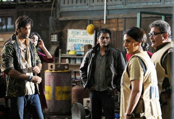 On the sets of Besharam (Facebook Page of Bollywood's Biggest Fans Club – BBFC)