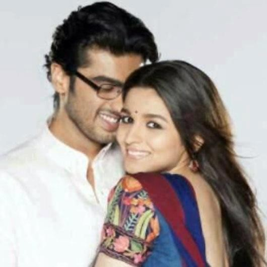 Arjun Kapoor and Alia Bhatt in 'Two States'