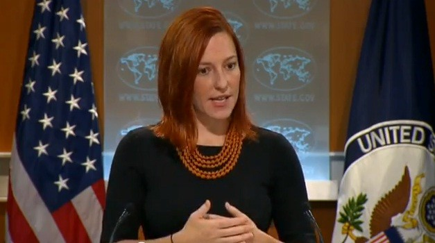VIDEO: Jen Psaki Dodges Ebola Cost-Benefit Question