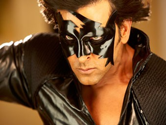 Hrithik Roshan as Krrish in Krrish 3