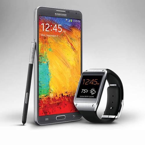Samsung Galaxy Note 3, Galaxy Gear Smartwatch India Price ...