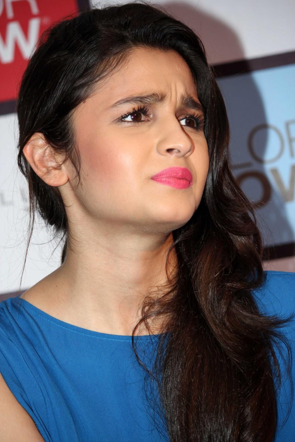 Alia Bhatt Launches Color Show Photos