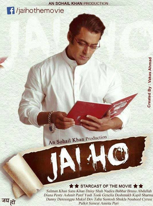 "Salman Khan's fan Made poster of ""Jai Ho"" (JaiHomovie.in)"