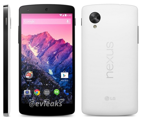 Google Nexus 5 leaked image