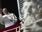 Pope Francis leads the Angelus prayer