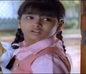 "Kalyani as a child actor in ""Ramana"" (YouTube/ JayaRaja Jayaraman)"