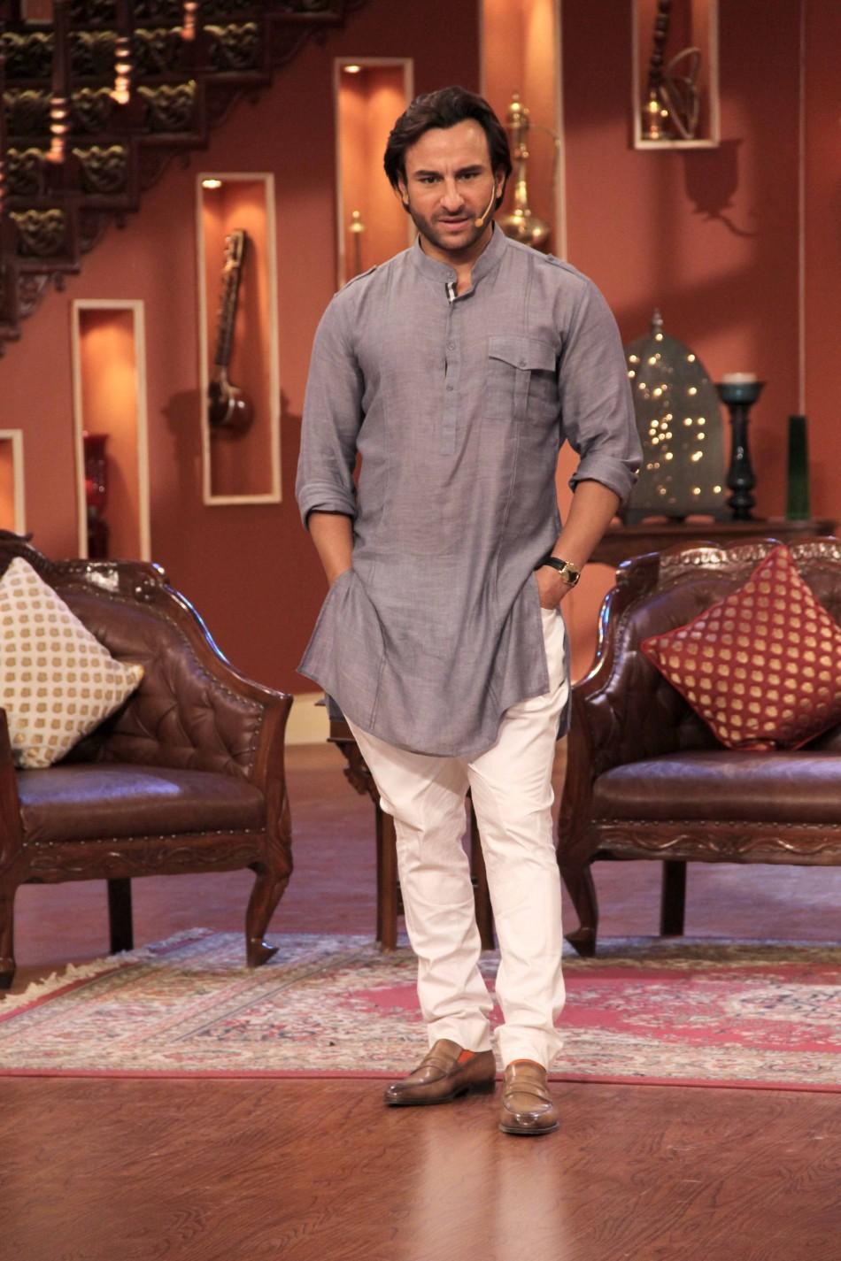 Saif ali khan fashion show 58
