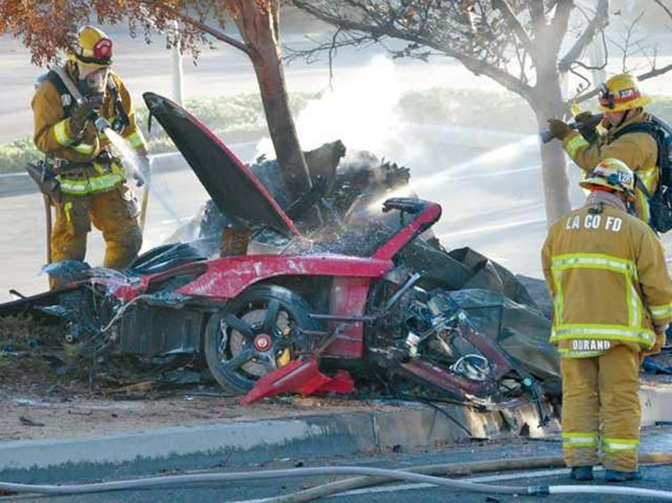 Paul Walker's Crash Site
