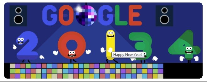 New Year's Eve 2013: Google Celebrates 2013's Last Day with Dancing ...