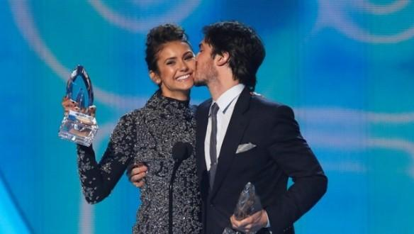 nina-dobrev-and-ian-somerhalder-at-people039s-choice-awards-2014