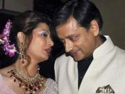 Union Minister Shashi Tharoor and Wife Sunanda Pushkar (Reuters)