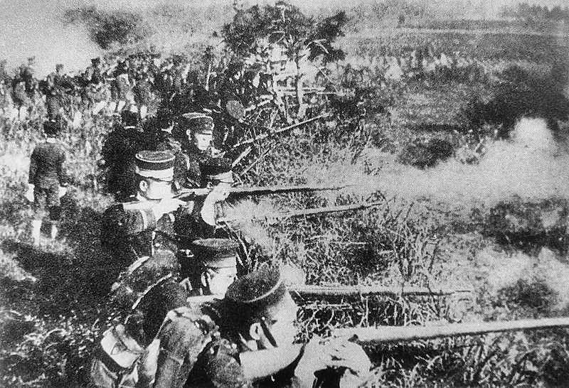 In 1894, Japanese navy defeated the force of the former Chinese Qing Dynasty marking the first time that the nation was outdone by Japan in a bloody war.