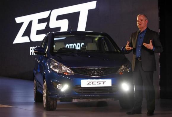 Tata Motors shows off their first new car in four years