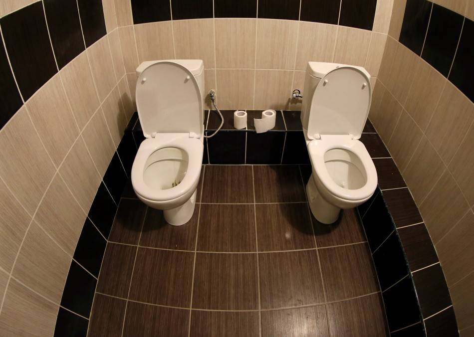sochi olympics 2014 twin loos and toilets where fishing. Black Bedroom Furniture Sets. Home Design Ideas