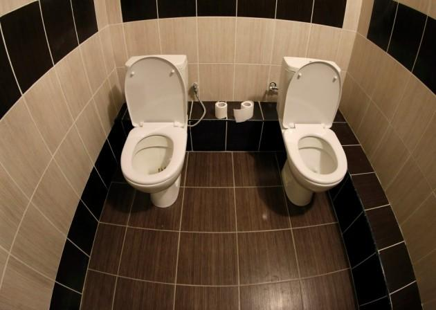 Twin Toilets