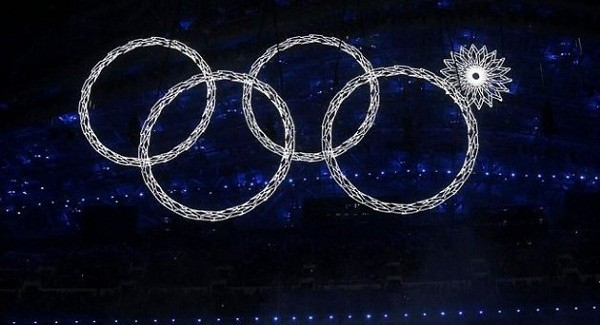 Sochi Ring Fail/Reuters