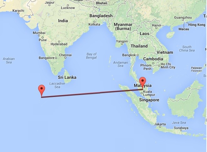 Maldives Residents Saw Missing Plane Mh370 People