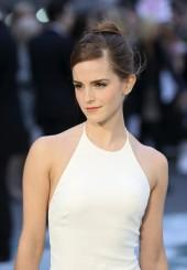 "Emma Watson at the London Premiere of ""Noah""."
