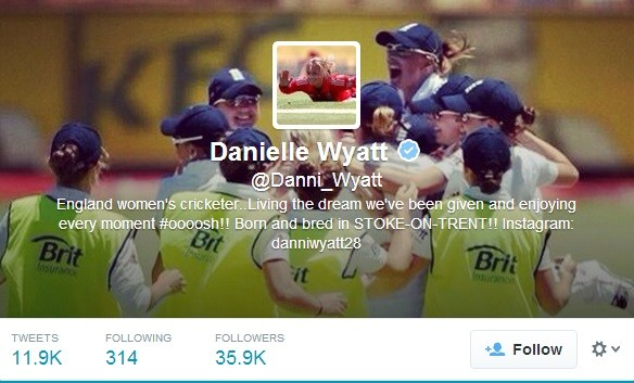 Danielle Wyatt, a member of the women's cricket team in England, has become the butt of all jokes after she proposed Indian Cricketer Virat Kohli for marriage in a bold Twitter post. (Image: Twitter Screen Shot)