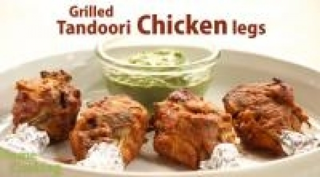 Grilled Tandoori Chicken legs -10607