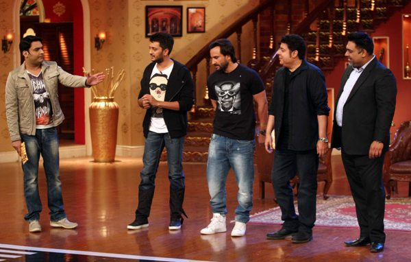 'Humshakals' Stars on Comedy Nights with Kapil [PHOTOS]
