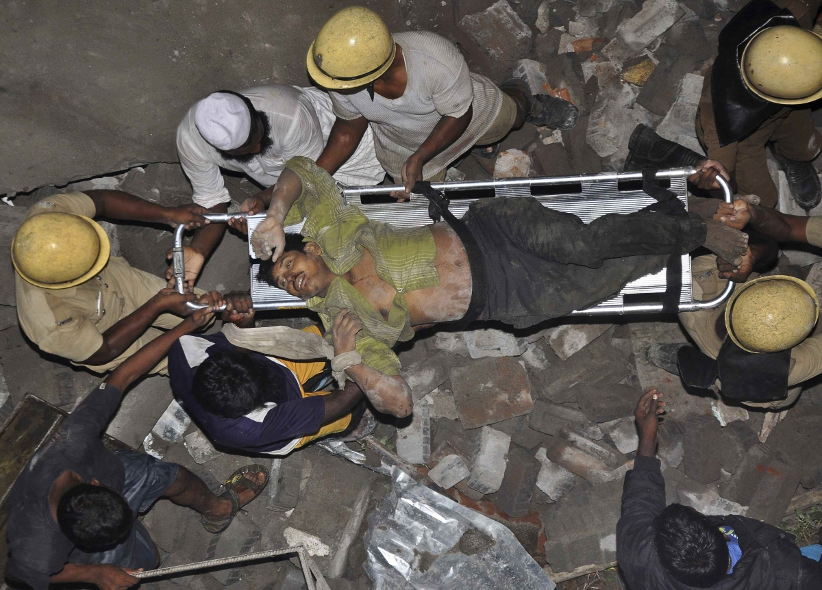 Building Construction Workers : Construction workers from ap killed as wall collapses