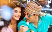 "Jacqueline Fernandez and Salman Khan in ""Kick"""