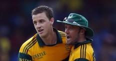Morne Morkel and AB de Villiers.