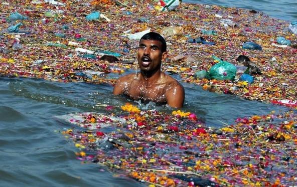 Ganga S Infrastructural Rejuvenation Threat To Aquatic