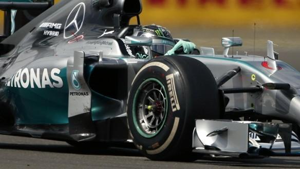 Mercedes Team Nico Rosberg