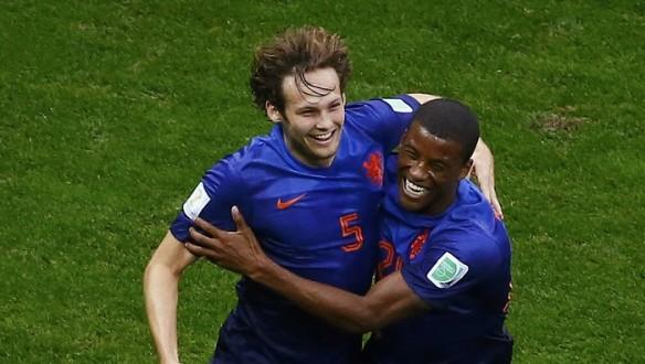Daley Blind Georginio Wijnaldum Netherlands