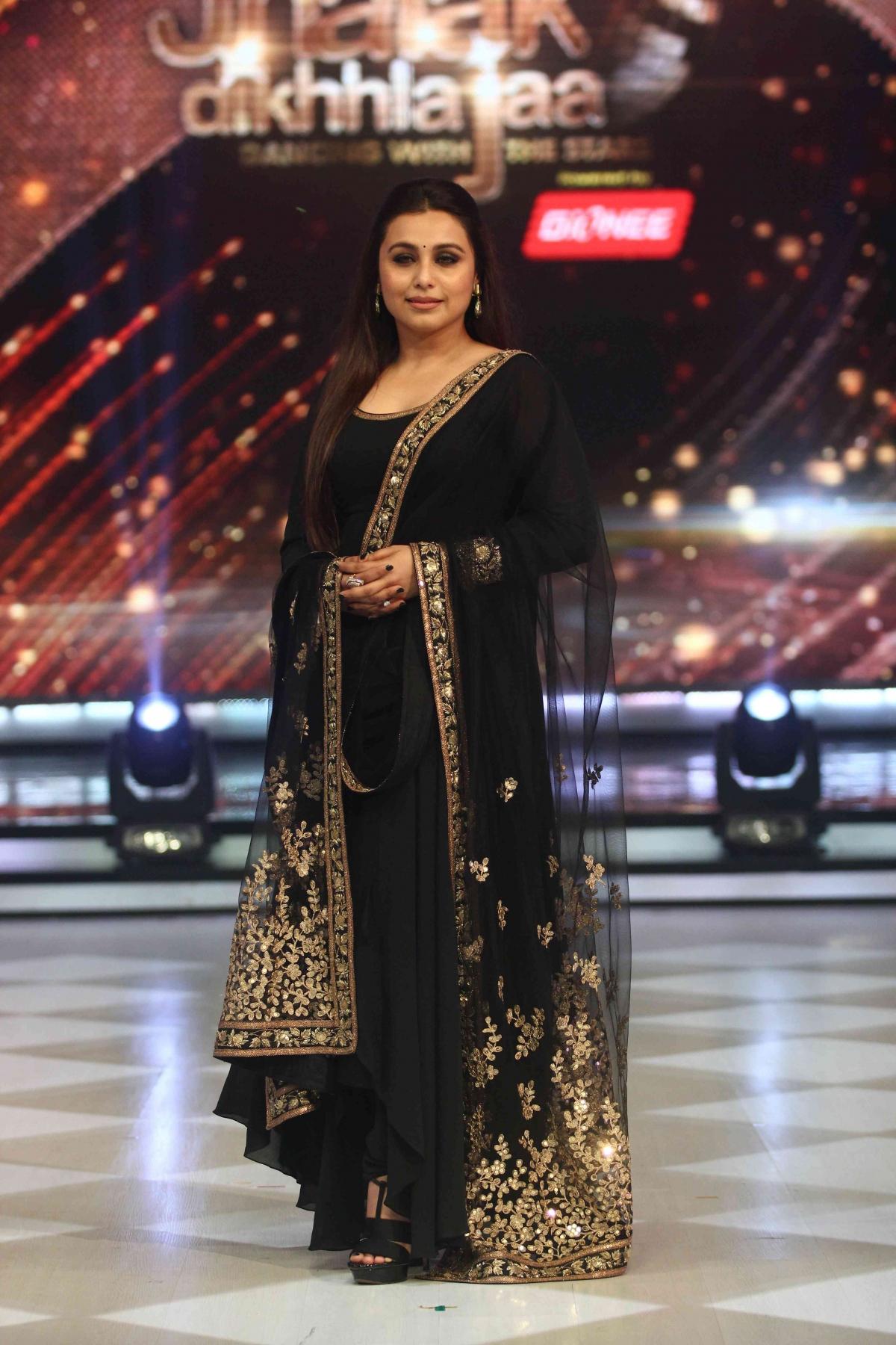 Rani Promotes Mardaani Jhalak Dikhhla Jaa