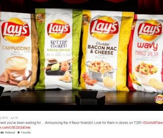 Lay's Do Us A Flavor Finalists