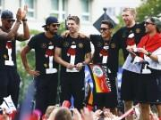 Germany Boateng Khedira Ozil Mertesacker Podolski