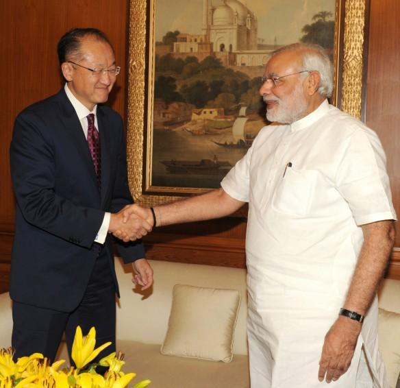 Narendra Modi, Jim Yong Kim