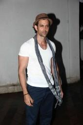Hrithik Roshan at Priyanka Chopra's Birthday bash