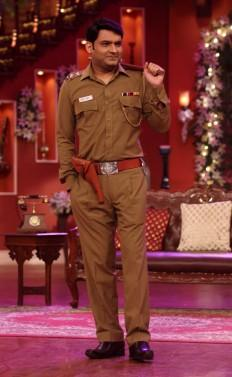 Kapil Sharma plays a cop on his show