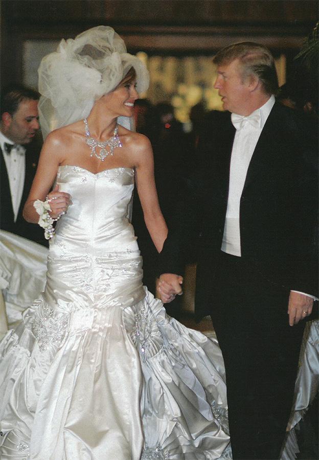 Donald Trump Melania Knauss Wedding