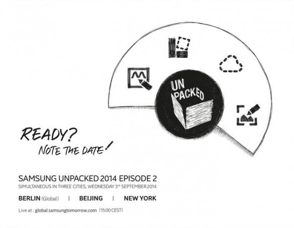 Samsung Galaxy Note 4 Launch Live Stream: Watch Unpacked 2014 Episode 2 Online