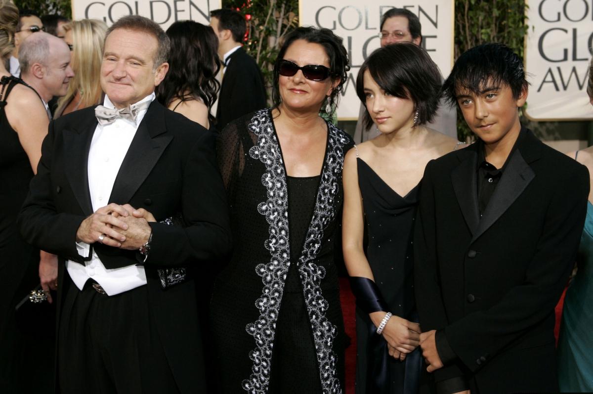 Robin Williams Family Robin williams