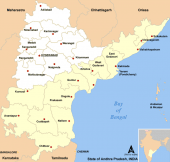 Telangana Seemandra Map